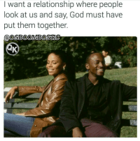 Blessed, Memes, and Social Media: I want a relationship where people  look at us and say, God must have  put them together  @OeB00MOBOSTIC 🙏Go follow ➡@boutmyblessings For the most viral memes on social media ✔check out @quotekillahs Dm us to reach over a 1,000,000💪ACTIVE followers for your promotion and marketing needs. Our advertising network consist of ♻@qk4life 💯@terryderon 😂@tales4dahood 👑@ogboombostic 😍@just2vicious 💃@libra_and_aries 🙏@boutmyblessings ogboombostic boutmyblessings quotekillahs kingofquotes inspirational motivational imblessed trustandbelieve dontquit youcanmakeit blessing faith truestory prayers word real realtalk facts bible nolie truthbetold reallifesituations wisdom wordstoliveby thatpart Godisgood praisehim Godlovesyou thankyoujesus