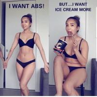 Ice Cream, Cream, and Ice: I WANT ABS! EMORE  BUT....I WANT  ICE CREAM