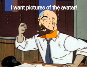 J.K. Simmons, Avatar, and Discover: I want pictures of the avatar! when you discover that JK Simmons voiced Tenzin