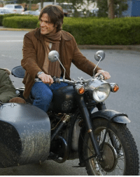 I want Sam and Dean the join a motorcycle gang next season because they have to go undercover to catch the monster. I feel that would be a great plot for an episode 😂 (Photo is from the movie Christmas Cottage): I want Sam and Dean the join a motorcycle gang next season because they have to go undercover to catch the monster. I feel that would be a great plot for an episode 😂 (Photo is from the movie Christmas Cottage)