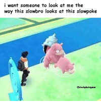 😍: i want someone to look at me the  way this slowbro looks at this slowpoke  hotogasm 😍