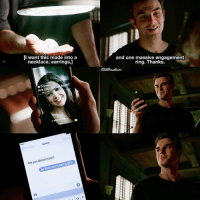 [The Originals 4x13] KOL WANTS TO PROPOSE TO DAVINA AHH 😍 ⠀ Q: Do you ship Kolvina? ⠀ My edit give credit [ kolvina kolmikaelson davinaclaire theoriginals|174.1k]: [I want this made into a  necklace, earrings,]  and one massive engagement  ring. Thanks  Davina  Are you almog here?  Davina  Are you almost here?  Be there soon bearing gifts  0 [The Originals 4x13] KOL WANTS TO PROPOSE TO DAVINA AHH 😍 ⠀ Q: Do you ship Kolvina? ⠀ My edit give credit [ kolvina kolmikaelson davinaclaire theoriginals|174.1k]