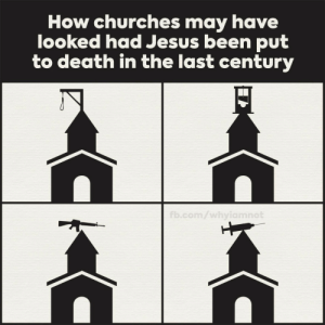 I want to visit the guillotine church: I want to visit the guillotine church