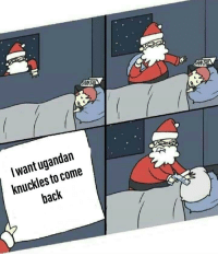 Bugs Bunny, Meme, and Fuck: I want ugandan  knuckles to come  back