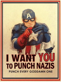 - Trending Memes: I WANT Yor  TO PUNCH NAZIS  PUNCH EVERY GODDAMN ONE - Trending Memes