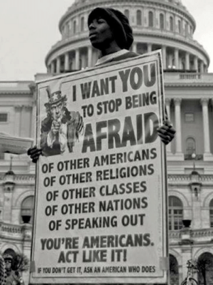 muricafunkyeah:  To The Americans who Appreciate this: I know it is a repost but it is still relevant.: I WANT YOU  TO STOP BEING  WAFRAID  OF OTHER AMERICANS  GROF OTHER RELIGIONS  OF OTHER CLASSES  OF OTHER NATIONS  OF SPEAKING OUT  YOU'RE AMERICANS.  ACT LIKE IT!  IF YOU DON'T GET IT, ASK AN AMERICAN WHO DOES muricafunkyeah:  To The Americans who Appreciate this: I know it is a repost but it is still relevant.