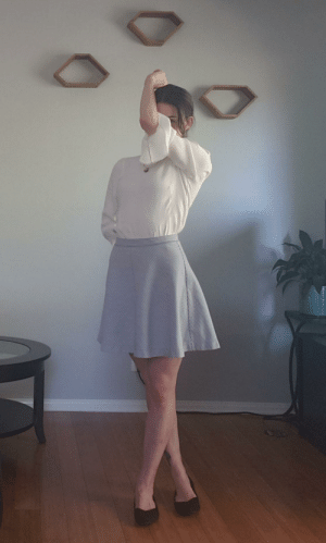 Hello, Cool, and Today: I wanted to show off my cool sleeves on ffa whilst not showing my face. The pose is a bit dramatic, but I kinda dig it. Unfortunately I can't post it there today. So, hello r/pics.