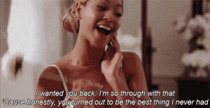 Best, Never, and Back: I wanted you back. I'm so through with that  Cause honestly, you turned out to be the best thing I never had https://iglovequotes.net/