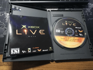 I was an Xbox Live beta tester, and still have the disc.: I was an Xbox Live beta tester, and still have the disc.