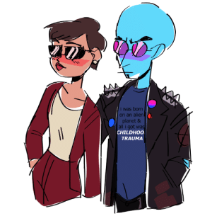 dystopiangraffiti:  I like drawing outfits!: i was born  on an alien  planet &  all i got was  CHILDHOO  TRAUMA dystopiangraffiti:  I like drawing outfits!