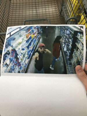 I was dancing for a Walmart camera cause my girlfriend was taking forever to shop. A few minutes later a man hands me a folded piece of paper as he walked by me without saying a word. Walmart is always watching!!: I was dancing for a Walmart camera cause my girlfriend was taking forever to shop. A few minutes later a man hands me a folded piece of paper as he walked by me without saying a word. Walmart is always watching!!