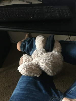 I was in a bad mood this morning. My roommates dog came up and set her favorite toy on my lap, looked at me, then walked away. I feel better.: I was in a bad mood this morning. My roommates dog came up and set her favorite toy on my lap, looked at me, then walked away. I feel better.