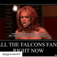 Memes, 🤖, and Roots: I was rooting for youp we were  all rooting for you! How dare you?!  ALL THE FALCONS FAN  HT NOW  djaggravatedhh  mel The internet wastes no time 🤷🏼‍♀️