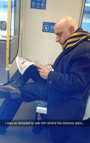 Tumblr, Gru, and Blog: I was so tempted to ask him where his minions were.. srsfunny:  Gru Spotted In The Wild