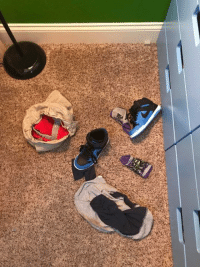 Clothes, Memes, and Run: I was standing in my sons room looking at his clothing and shoes. He had run to the living room to play. This is the conversation we had. Me: *Yelling into living room* Hey Buddy. Did you put your clothes in the hamper? 6yr old: Yes. Me: And you put your shoes away? 6yr old: Yes. Me: Are you sure? 6yr old: Yes Mom! ~My child is a filthy filthy liar. It looks as though he evaporated. Like dust. I found him 5 minutes later, naked in the living room. He is a filthy naked liar.