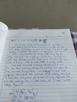 I was throwing out old stuff and I found my old diary. 13 year old me is such an asshole hahaha: I was throwing out old stuff and I found my old diary. 13 year old me is such an asshole hahaha