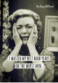 Like ✔ Comment ✔ Share ✔ Tag ✔  https://www.facebook.com/BeautifulTwistedMind: I WASTED MY BEST BOOB YEARS  ON THE WORST MEN Like ✔ Comment ✔ Share ✔ Tag ✔  https://www.facebook.com/BeautifulTwistedMind