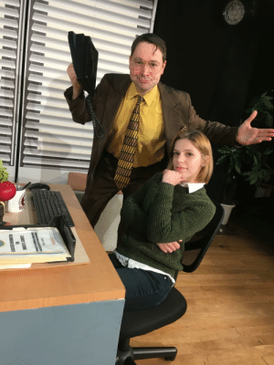 The Office, Office, and Parody: I went to a parody musical of The Office in nyc last night. it was great.