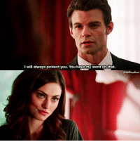 Cute, Lol, and Love: I will always protect you. You have my word on that [ haylijahweek2017] Day 2: Favorite quote ↳ 1x01 ⠀ Fetus Haylijah is so cute 😍 I skipped day 1 because I honestly can't tell my favorite Haylijah scene lol I love all ⠀ Q: What's your favorite Haylijah quote? ⠀ My edit give credit [ haylijah hayleymarshall elijahmikaelson theoriginals|166.4k]