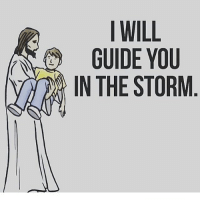 Amen! Praise the Lord!: I WILL  GUIDE YOU  v) IN THE STORM Amen! Praise the Lord!