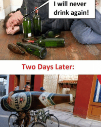 I will never  drink again!  Two Days Later: Update on my trip to Russia