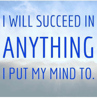 "Memes, Mind, and Affirmation: I WILL SUCCEED IN  ANYTHING  I PUT MY MIND TO Daily affirmation. Type ""YES"" if you agree 👇🏼👇🏼👇🏼! wearespiritual affirmation loa manifest"