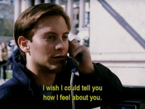 How, You, and Feel: I wish I could tell you  how I feel about you.