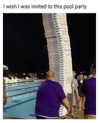 I counted 45 pizzas which means there's 360 slices... God I wish I was there 😥 Follow @some_bull_ish 👈 for more: I wish I was invited to this pool party  ish  some I counted 45 pizzas which means there's 360 slices... God I wish I was there 😥 Follow @some_bull_ish 👈 for more