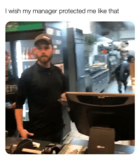 - - - - manager wingstop funny funnyvideos funnymemes meme memes memesdaily fights arguments customerserviceproblems: I wish my manager protected me like that - - - - manager wingstop funny funnyvideos funnymemes meme memes memesdaily fights arguments customerserviceproblems