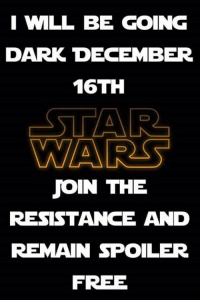 Memes, Free, and 🤖: I WLL BE GOING  DARK DECEMBER  16TH  WARS  JOIN THE  RESISTANCE AND  REMAIN SPOILER  FREE