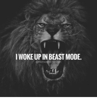 Who's ready to make today your bitch? 😝 | MotivatedMindset: I WOKE UP IN BEAST MODE,  @motivated.mindset Who's ready to make today your bitch? 😝 | MotivatedMindset