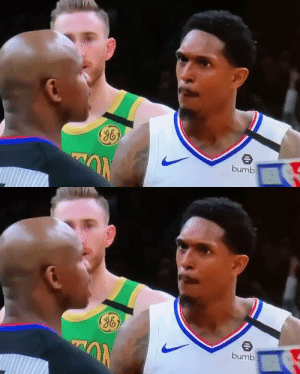 I wonder what Lou Williams is saying to this ref?🤔😂 https://t.co/sRroKvY0qs: I wonder what Lou Williams is saying to this ref?🤔😂 https://t.co/sRroKvY0qs