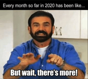 I wonder what next month holds: I wonder what next month holds