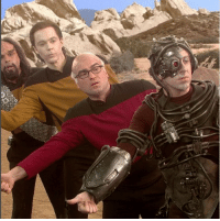 Memes, Cbs, and Wonder: I wonder what they'll think of the new series of @startrekcbs !? 🎥🙌😊 . 👀 . tbbt thebigbangtheorycast @therealjimparsons kaleycuoco @normancook sheldoncooper johnnygalecki @sanctionedjohnnygalecki bigbangtheorytime bigbangtheory trio cbs bigbang shamy penny sheldon raj thebigbangtheory