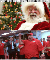 Merry Christmas, everybody! (still not completely sure that Andy Reid isn't Santa): I WONT BE THE ONLY FAT GUYIN A RED SUIT THISCHRISTMAS  NFLMEMEZ Merry Christmas, everybody! (still not completely sure that Andy Reid isn't Santa)