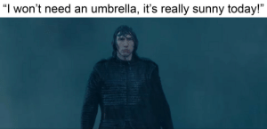 "me_irl: ""I won't need an umbrella, it's really sunny today!"" me_irl"