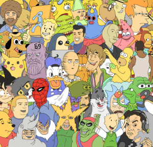 Dank, Internet, and Memes: I0  ID  69  SE  RE I drew all the boys together and i did it for the internet by Sickpupz MORE MEMES