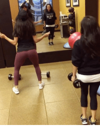 Memes, Working Out, and Wshh: IA Mile  wu BrittanyRenner breaks it down one time after a work out with the winner of her monthly fitness raffle! 😍💪💯 @bundleofbrittany WSHH