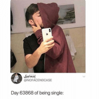 Memes, Single, and Being Single: ia  @NOFACENOCASE  Day 63868 of being single: