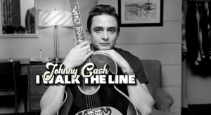 63 years ago today, Johnny Cash recorded I Walk The Line, which became his first #1 hit on the Billboard country music charts.: IALK THE LINE 63 years ago today, Johnny Cash recorded I Walk The Line, which became his first #1 hit on the Billboard country music charts.