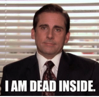 "Relatable, Mistakes, and Got: IAM DEAD INSIDE Me at the start of the semester: ""I got this, I'm not going to make the same mistakes I did last semester.  I'll take fewer naps, I'll study more, and I'll stop procrastinating.""  Me a month in: https://t.co/PlfHWJw8Pz"