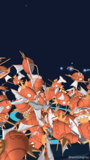 Magikarp, Pokemon, and Tumblr: @iamtimgray pokemon-gogogo:  I half expected it to happen. I hate MagikarpPOKEMONFANS.NET