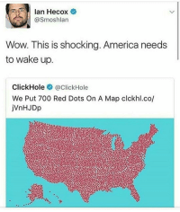 I'M ON A TRAIN NOW GUYS clean memes cleanmemes funny funnymemes humour cleanhumour funnyhumour cleanbreadmemes bread yahhh ugh yay lol cool omg dope dank hashtag: Ian Hecox  @Smosh lan  Wow. This is shocking. America needs  to wake up  Click Hole  @ClickHole  We Put 700 Red Dots On A Map clckhl.co/ I'M ON A TRAIN NOW GUYS clean memes cleanmemes funny funnymemes humour cleanhumour funnyhumour cleanbreadmemes bread yahhh ugh yay lol cool omg dope dank hashtag