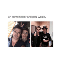 turn my notifications on! you have first to update instagram though!: ian Somerhalder and paul wesley turn my notifications on! you have first to update instagram though!