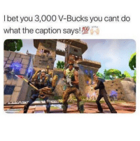 "Fail, I Bet, and Memes: Ibet you 3,000 V-Bucks you cant do  what the caption says!T00 I bet you 3,000 VBUCKS you can't do this 🙀 - 1.) Keep your eyes open (don't blink) 😳 2.) Follow @josefinemymusic 🔥 3.) Follow @cristian 🤪 4.) Follow @nick.kreticos 😎 5.) Follow @slams 🤩 6.) Follow @rrudyc 🙌🏼 7.) Comment ""DONE"" letter by letter when done! 👇 8.) You can blink now (96% fail) 💯"