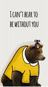 Snapchat Memes: ICAN'T BEAR TO  BE WITHOUT YOU Snapchat Memes