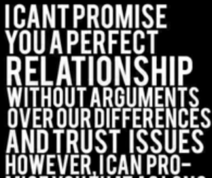 ICANTPROMISE YOUA PERFECT RELATIONSHIP WITHOUT ARGUMENTS ...