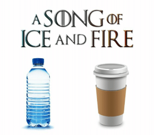 Dank, Fire, and Power: ICE AND FIRE The real power couple.