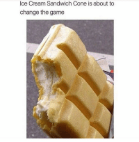 Hood, Cream, and Ice: Ice Cream Sandwich Cone is about to  change the game Lit!!! #WSHH