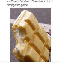 Memes, The Game, and Game: Ice Cream Sandwich Cone is about to  change the game